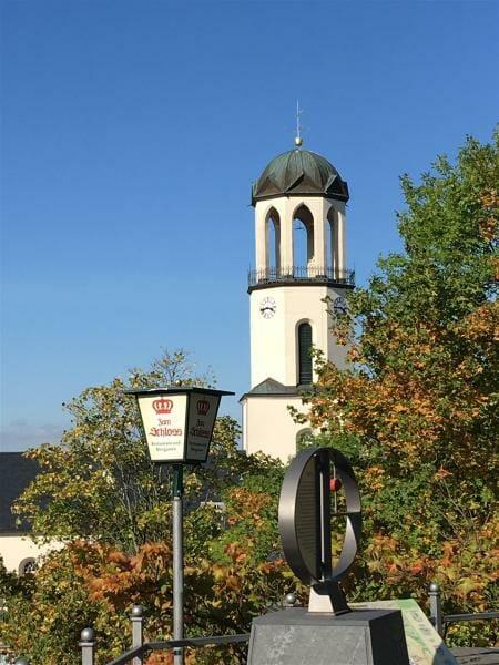 Lauerntiuskirche in Auerbach / Vogtland / Sachsen