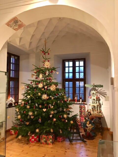 Weihnachtsausstellung auf Burg Posterstein Thüringen