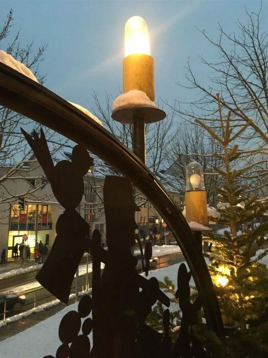 Weihnachtsmarkt in Falkenstein / Sachsen / Vogtland