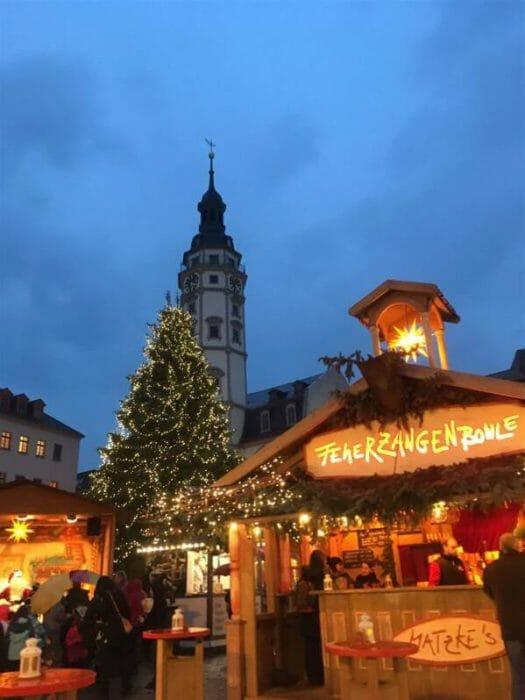 Geheimtipp für Weihnachtsmärkte: der Märchenmarkt in Gera, Thüringen