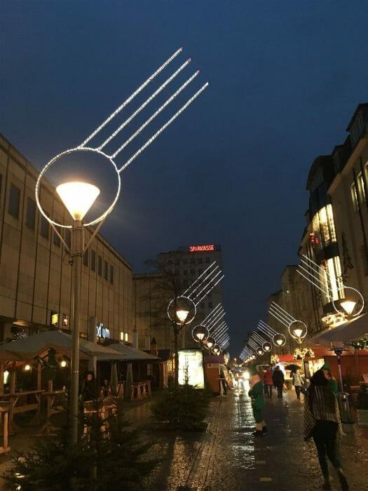 Weihnachtsmarkt Gera, Vogtland, Thüringen