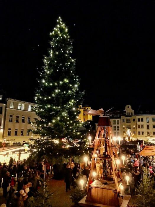 Weihnachtszeit im Vogtland - Plauen