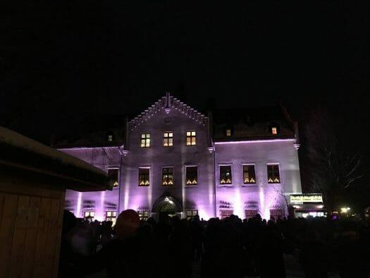 Weihnachtsmarkt am Schloss Falkenstein