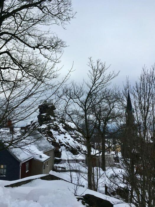 Ausflug im Winter nach Schöneck - Alter Söll