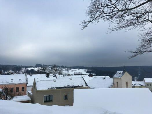 Ausflug im Winter nach Schöneck