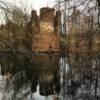 Die Ruine der Wasserburg Mechelgrün