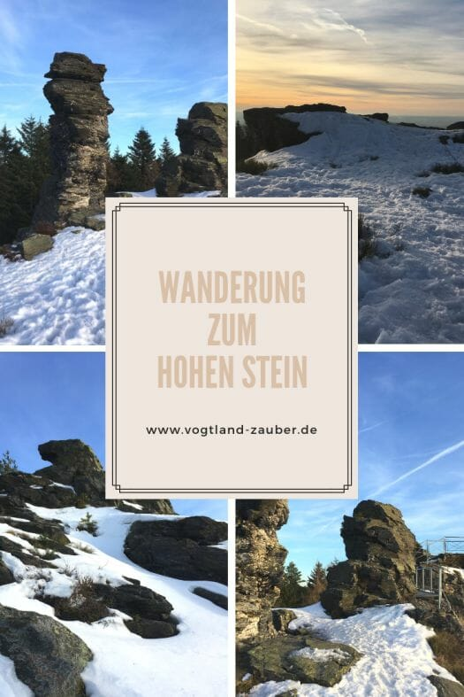Wanderung zum Hohen Stein - Vysoky Kamen im Vogtland