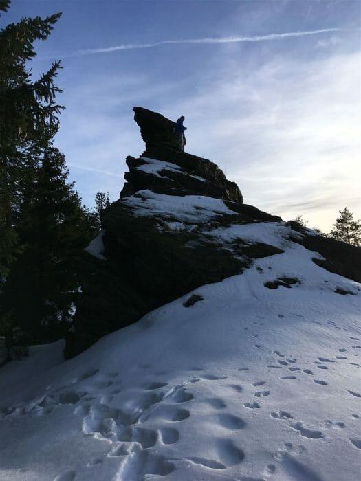 Ausflug - Wanderung zum Hohen Stein - vysoky kamen