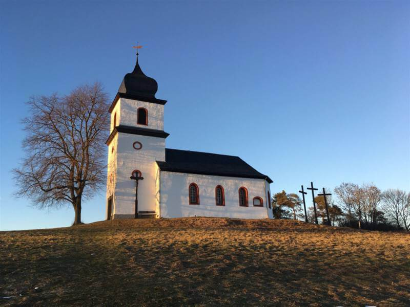 Die kleine Kapelle Santa Clara in Heinersgrün