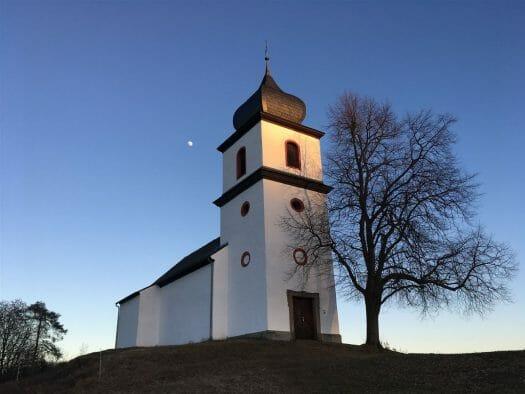 Ein wunderbarer Ausflug - die Kapelle in Heinersgrün
