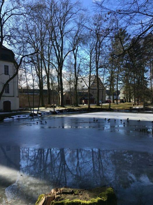 Ausflug zur Kapelle in Kauschwitz in der Nähe von Plauen