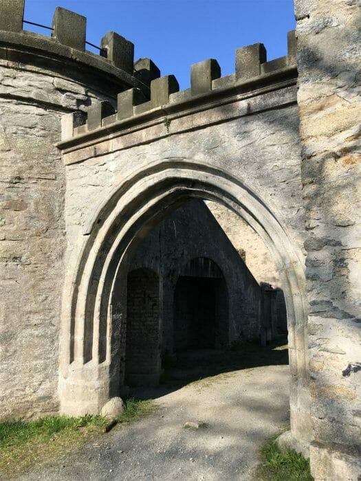 Theresienstein Hof - Das Tor aus dem alten Hofer Schloss