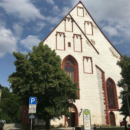 Stadtrundgang auf dem Kulturweg der Vögte durch Weida - Kirche St. Marien
