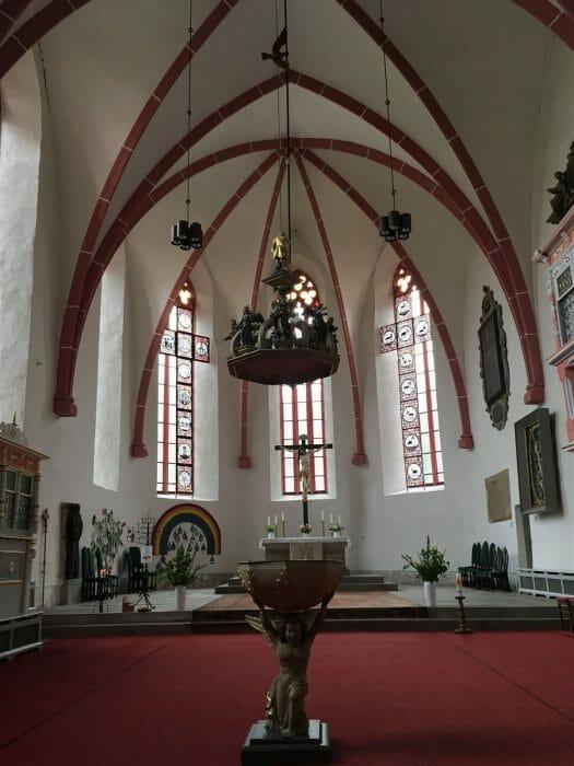 Stadtrundgang auf dem Kulturweg der Vögte durch Weida - Marienkirche
