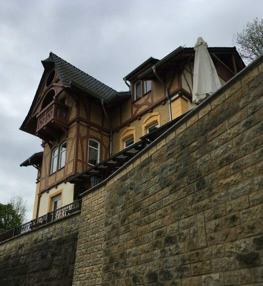 Thüringen - Gera Untermhaus - Ausflug / Spaziergang - Hotel und Restaurant Zwergenschlösschen