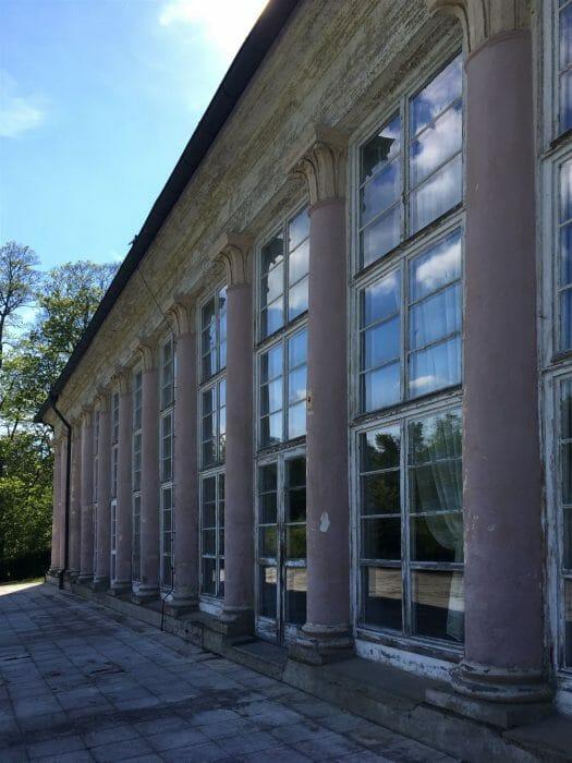 Ausflug: Landschaftspark Ebersdorf - Thüringen - nahe der Bleilochtalsperre - Orangerie