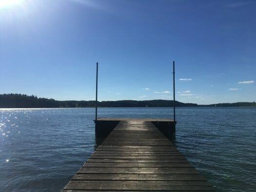 Ausflug mit Kindern in den Sommerferien zur Talsperre Pöhl in Sachsen