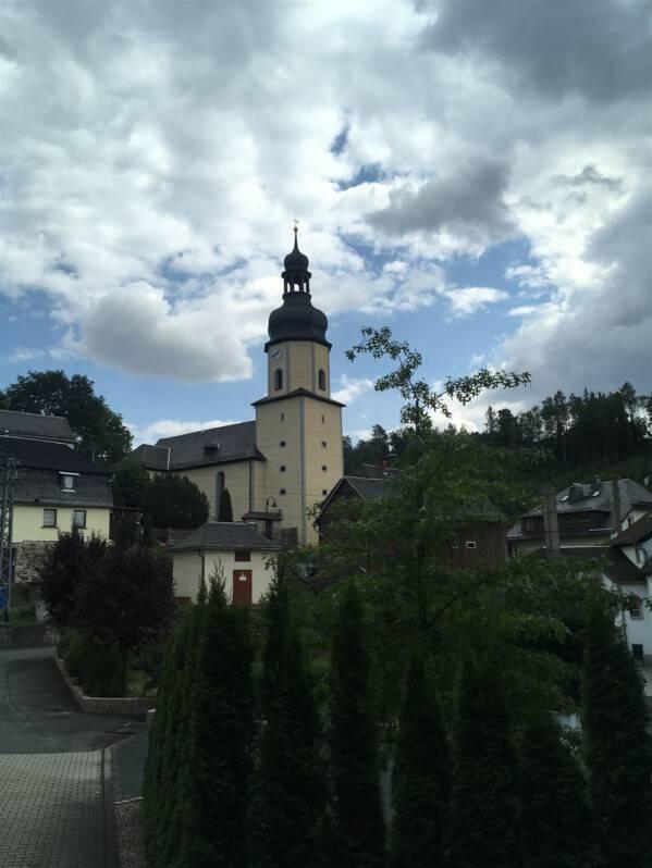 Sparnberg im thüringischen Vogtland
