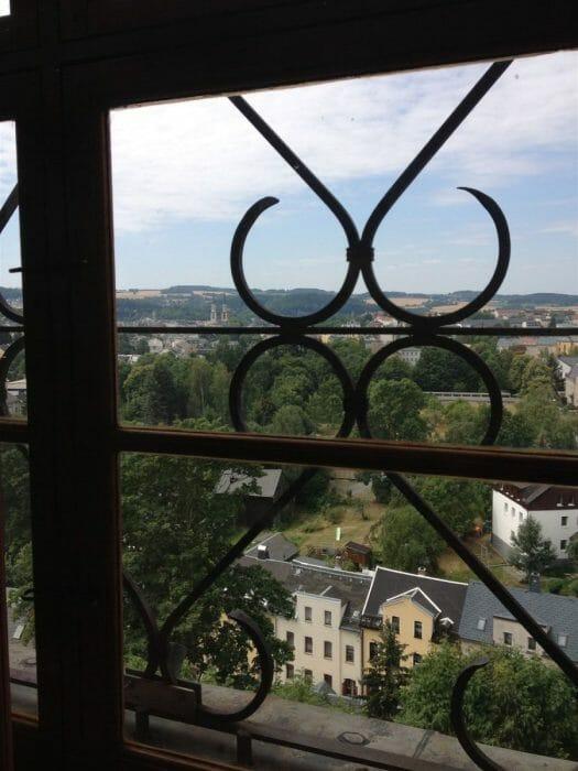 Blick auf Oelsnitz