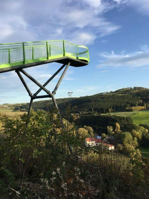 Die beliebtesten Aussichtspunkte im Vogtland - Ausflug Skywalk in Pottiga