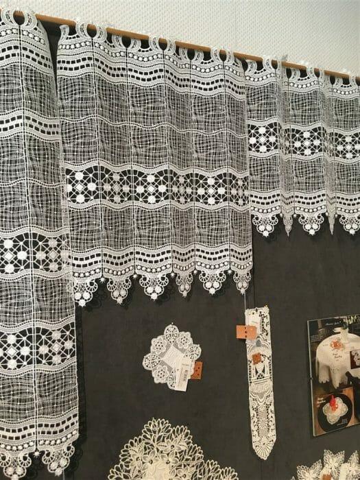Gardinen aus Plauener Spitze direkt beim Hersteller kaufen  - Modespitze Plauen - Lieblingsladen