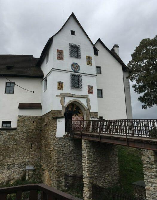Burgen und Schlösser im Vogtland - Burg Seeberg bei Franzensbad