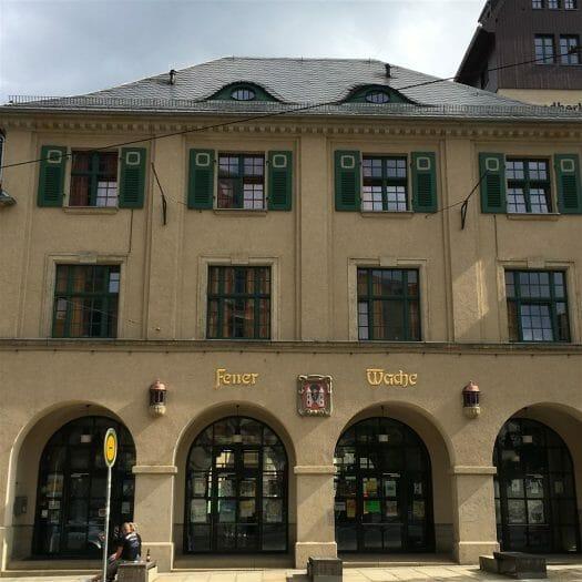 Jugendherberge in der Alten Feuerwache in Plauen