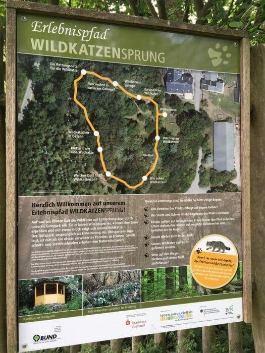 Erlebnispfad Pfaffengut in Plauen in Sachsen