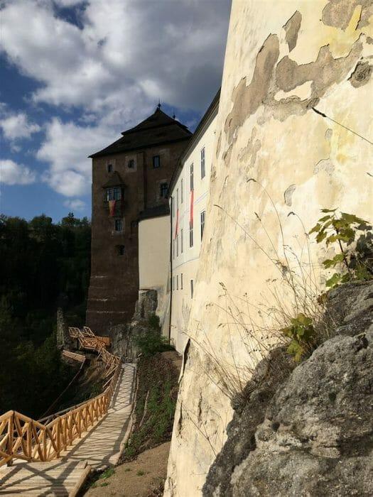 Ausflug Schloss Petschau in Becov in Tschechien