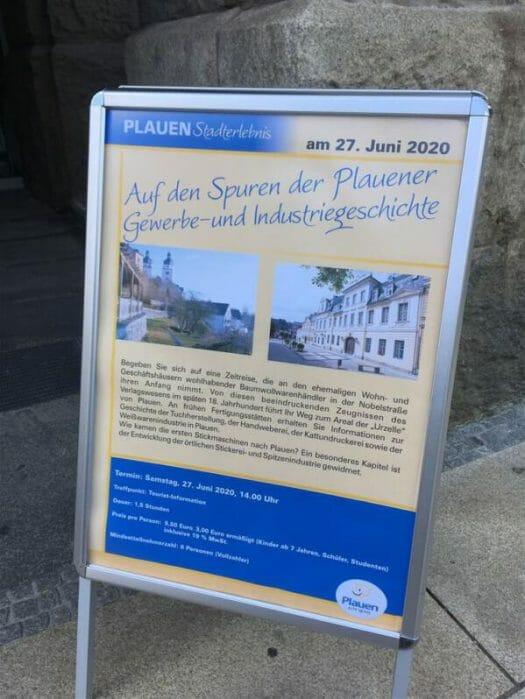 Plauen - Rundgang Auf den Spuren der Plauener Gewerbe- und Industriegeschichte