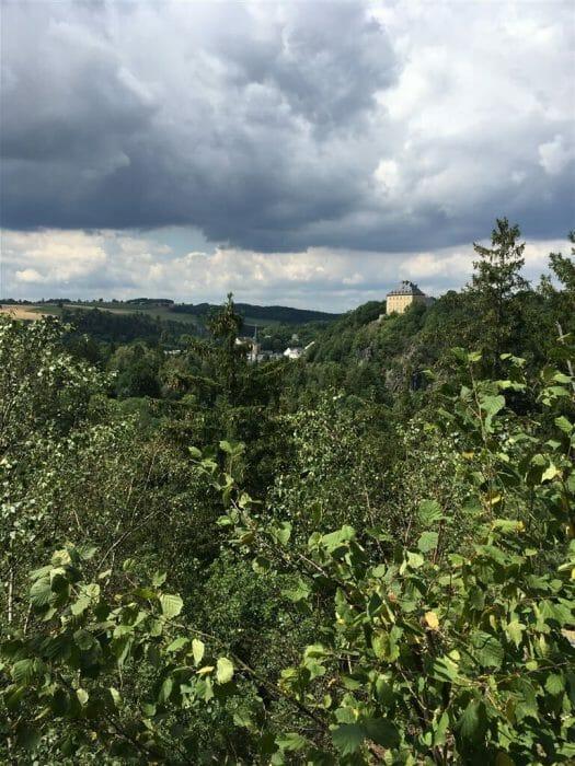Wandern in Thüringen in Hirschberg Hag
