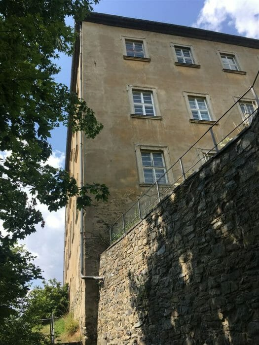 das Schloss in Hirschberg in Thüringen