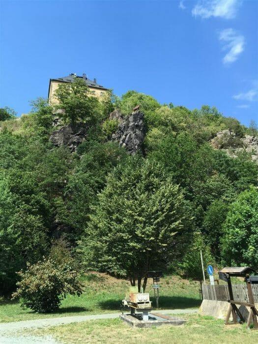 Ausflug - Wandern rund um Hirschberg in Thüringen