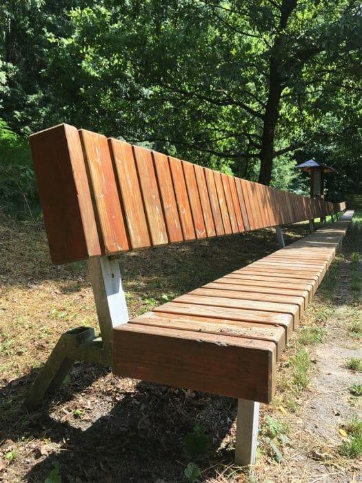 Die Saalebänk - Wandern in Thüringen