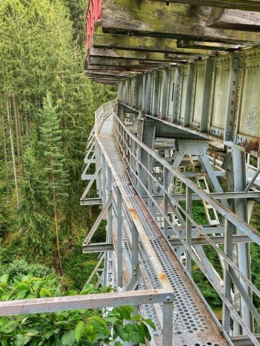 Sehenswertes Wandern zur Ziemestalbrücke in Thüringen