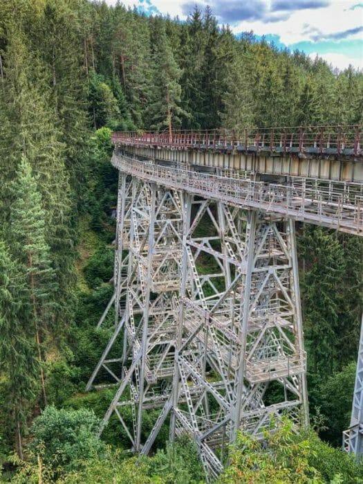 Wanderung zur Ziemestalbrücke in Thüringen
