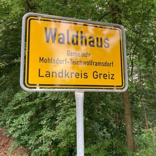 Waldhaus im Werdauer Wald bei Greiz