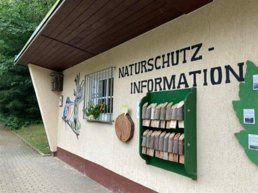 Familienausflug ins Tiergehege in Waldhaus im Werdauer Wald bei Greiz