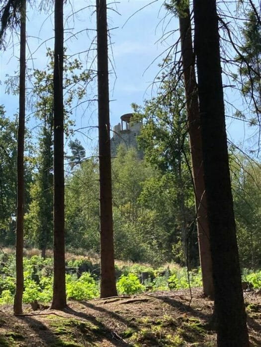 Ausflug - Bismarckturm von Cheb (Eger)