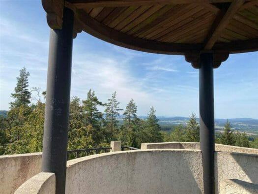grandiose Aussicht vom Turm - Tipp Bismarckturm von Cheb (Eger)