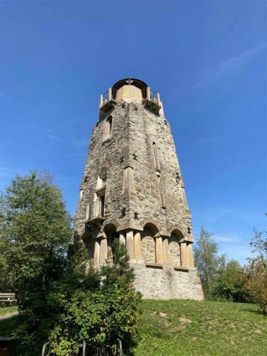 Ausflug Tipp - Bismarckturm von Cheb (Eger)