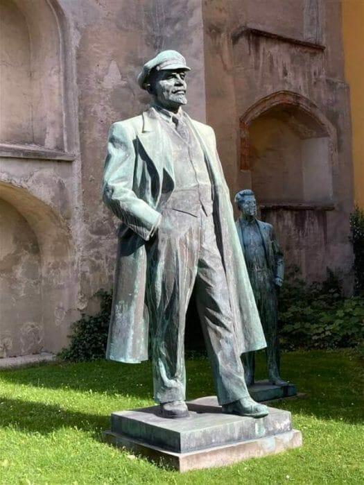 Lenin in Cheb