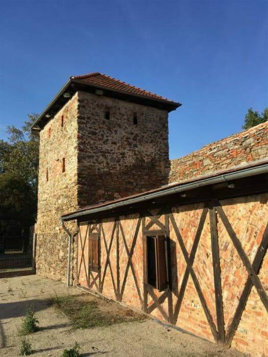 Gebäude der ehemaligen Kaiserpfalz von Cheb (Burg Eger)