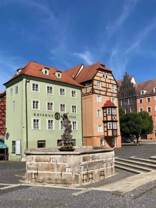Das Stöckel (auch Spalicek genannt) in Cheb (Eger) - der Marktplatz