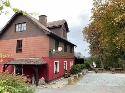 Gasthaus Gaststätte Hirschsprung Issigau