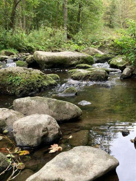 Höllental in Bayern - wandern im Frankenwald