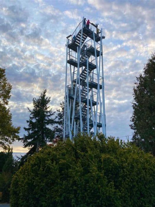 Sehenswürdigkeit - Aussichtsturm in Remtengrün / Adorf Sachsen