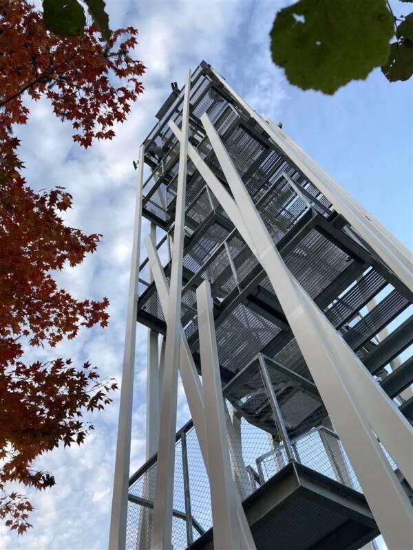 Aussichtsturm in Remtengrün / Adorf Sachsen