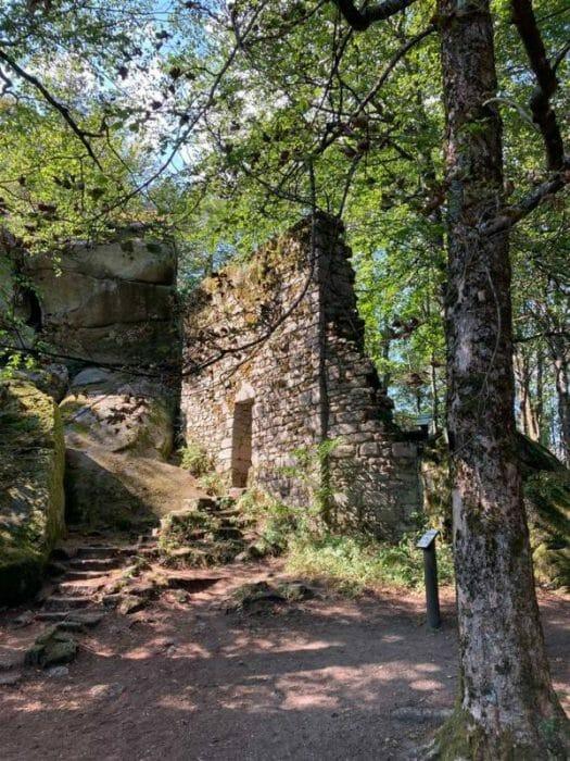 Wanderung rund um den Großen Waldstein in Franken / Bayern - Ostburg