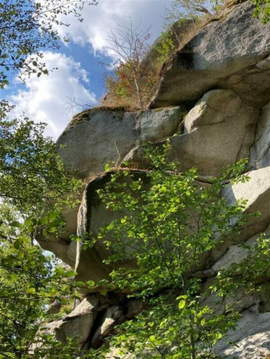 Wanderung rund um den Großen Waldstein in Franken / Bayern im fränkischen Fichtelgebirge